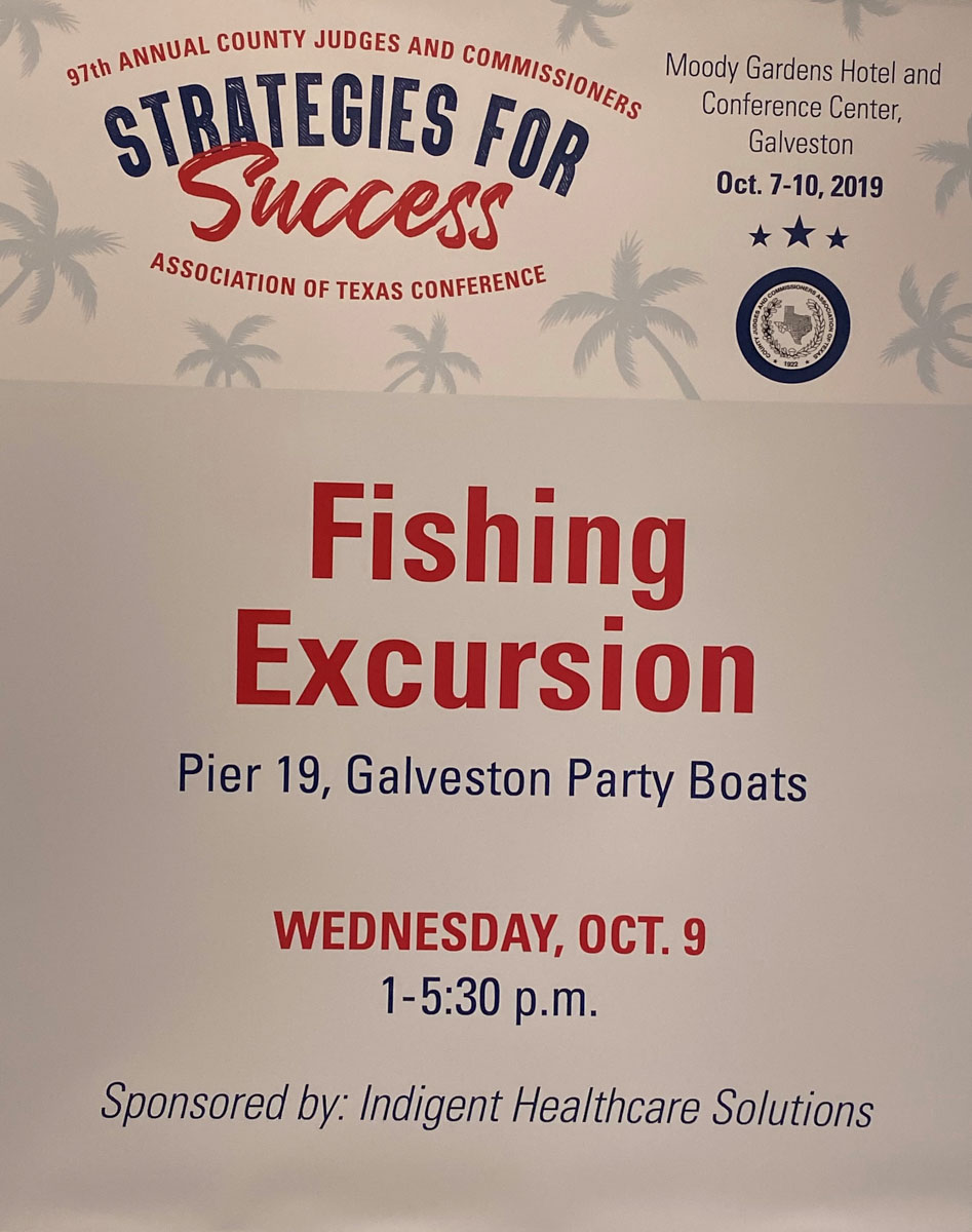 97th Annual County Judges & Commissioners Association Conference - Fishing Excursion